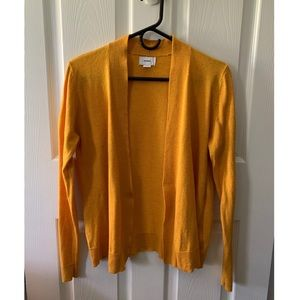 Old Navy Gold Cardigan (S) 🍯